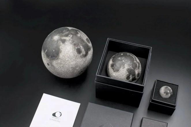 AstroReality Lunar 3D Printed Moon