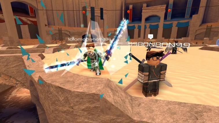 Flood Escape 2 and Swordburst 2 Come to Roblox on Xbox One