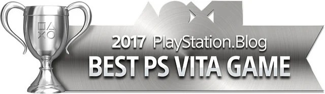 PlayStation Blog Game of the Year 2017 - Best PS Vita Game (Silver)