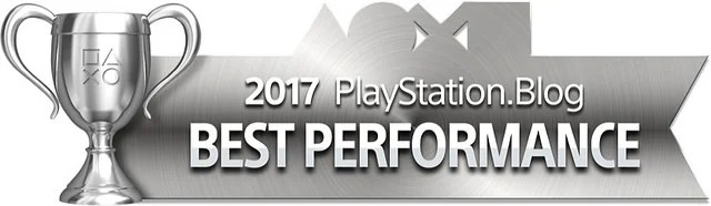 PlayStation Blog Game of the Year 2017 - Best Performance (Silver)