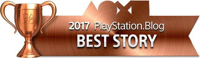 PlayStation Blog Game of the Year 2017 - Best Story (Bronze)