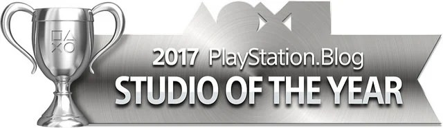 PlayStation Blog Game of the Year 2017 - Studio of the Year (Silver)
