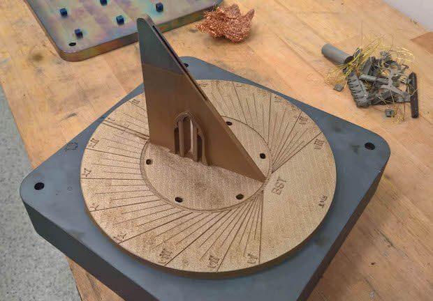 Renishaw sundial