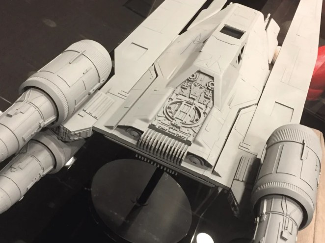 Another of the Star Wars models: the U-Wing Fighter