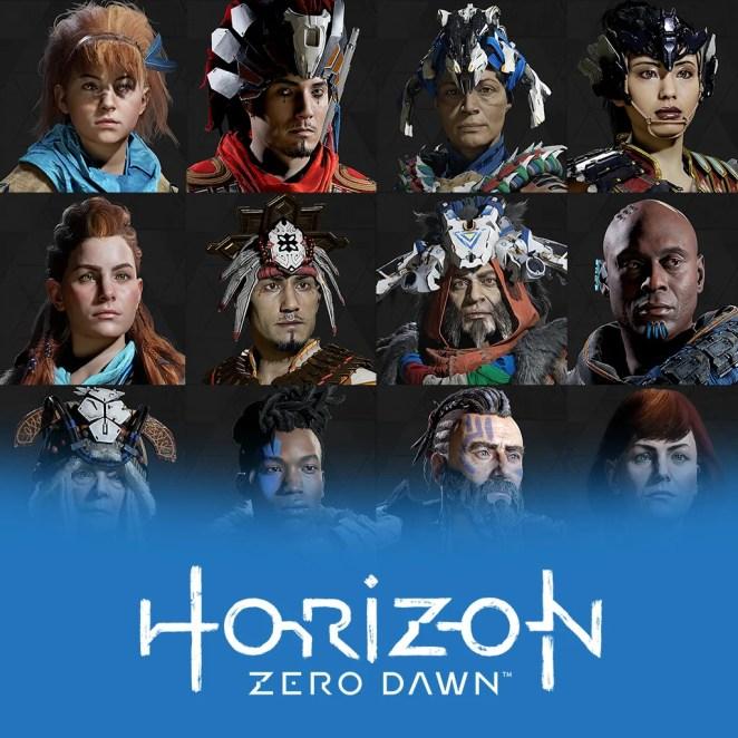 Horizon Zero Dawn Anniversary Avatars