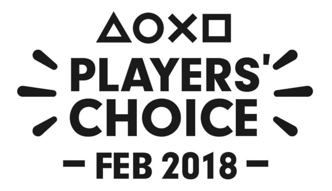 Players' Choice Logo: February 2018
