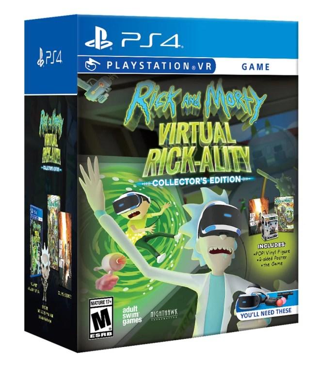 Rick and Morty: Virtual Rick-ality Collector's Edition