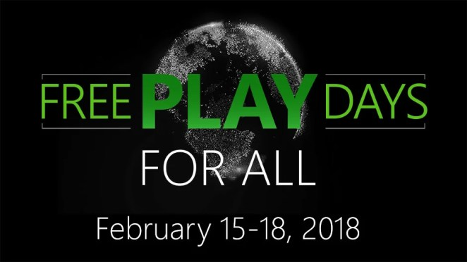 XBL Free Play Days for All Hero Image