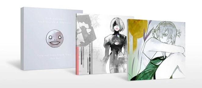 Nier Gestalt & Replicant and Automata Vinyl Box Set