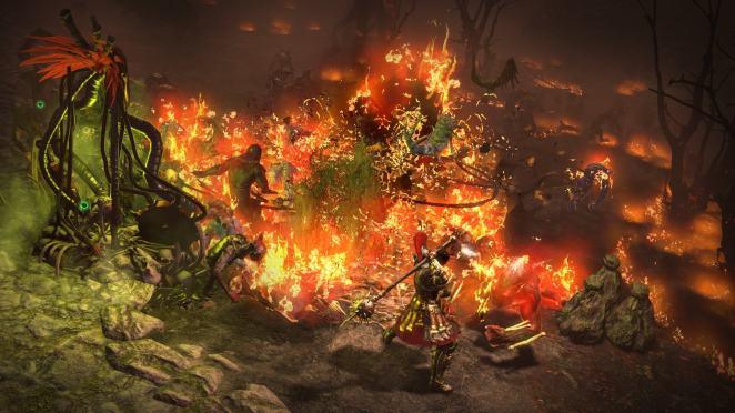 Path of Exile Ashen Fields Screenshot