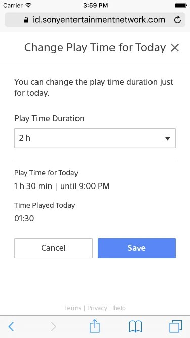 Play Time Management