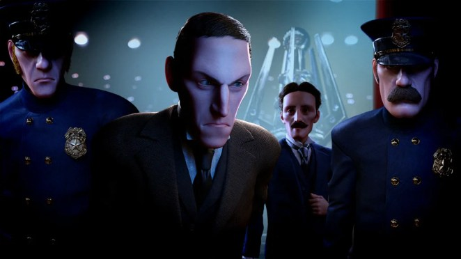 Tesla vs Lovecraft for PS4
