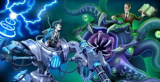 Tesla vs Lovecraft Large Image