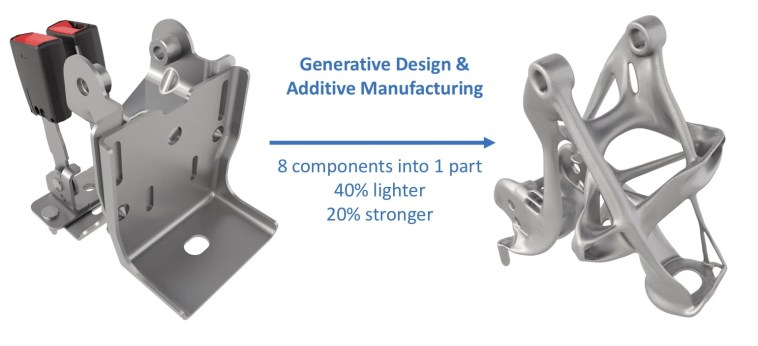 Best Fuel Additive >> GM and Autodesk Using Additive Manufacturing for Lighter Vehicles | Blogdottv