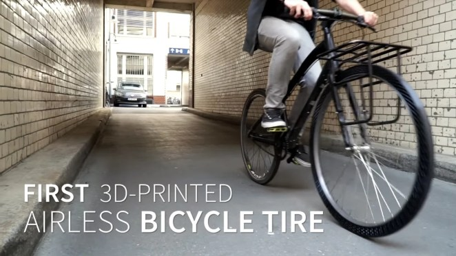 3d printed airless bicycle tire