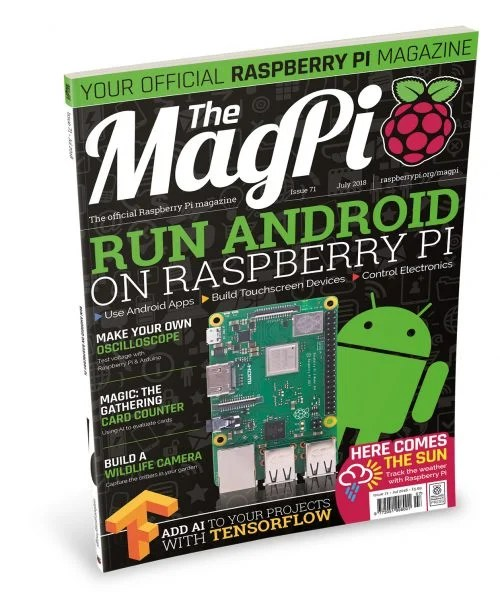 Raspberry Pi The MagPi Magazine issue 71 - Android