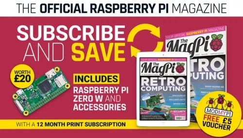The MagPi subscription offer — The Magpi 72 - AI Raspberry Pi