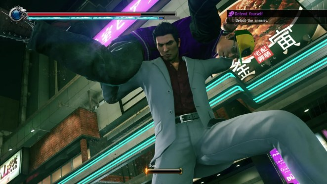 Kiryu has a heart of gold, but you wouldn't want to wrong him or his friends.