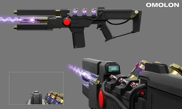 """Destiny 2: Forsaken Concept Art – PlayStation-Exclusive Exotic Weapon """"Wavesplitter"""""""