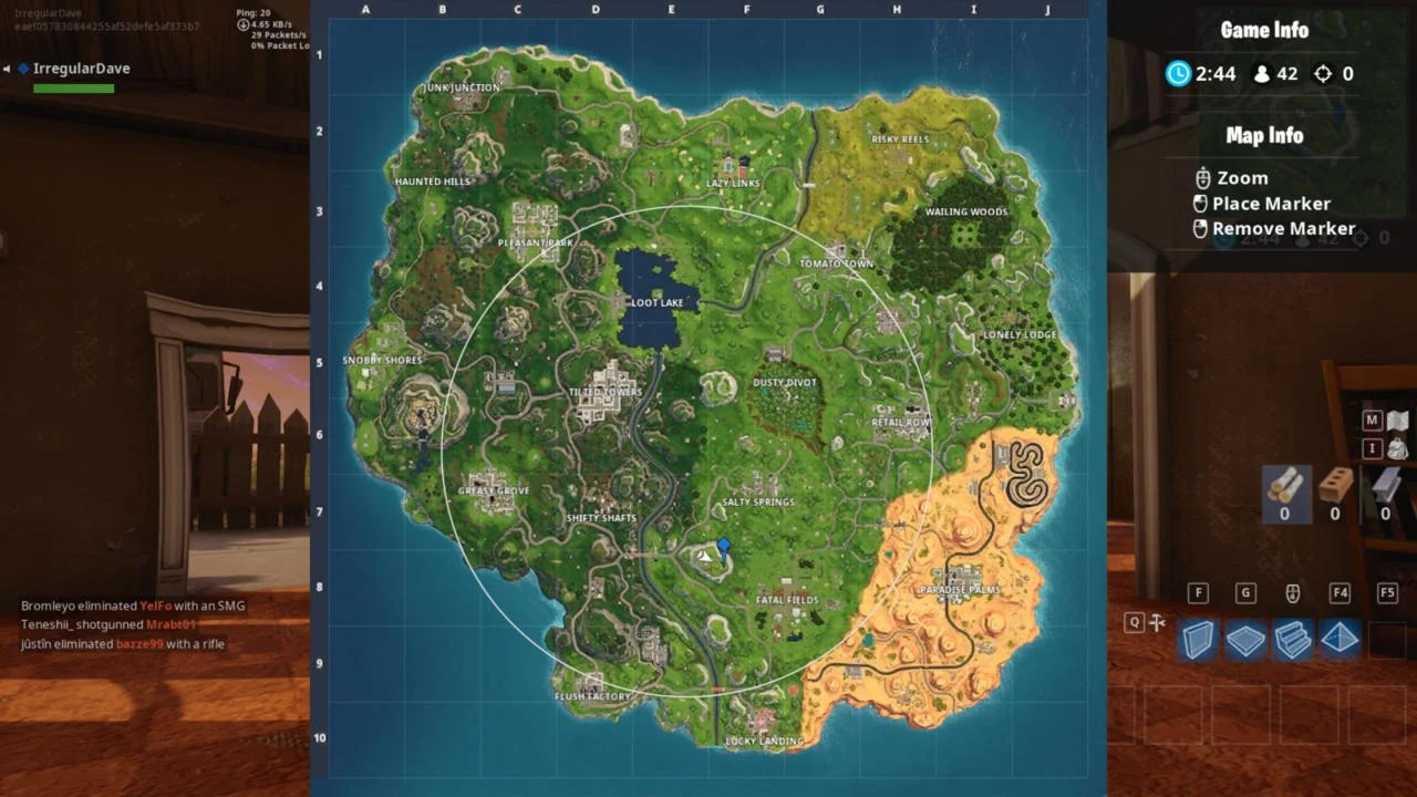 Fortnite Follow Flush Factory Treasure Map Location Guide Season 5 Week 3 Challenge Öログドットテレビ Season 5 guide features a roundup of all of the available information you will want to know about the new season of the battle pass. fortnite follow flush factory treasure