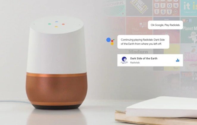 Podcasts on Google Assistant