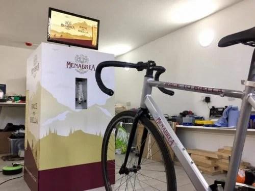 Menabrea Beer Bike Raspberry Pi #CycleToWorkDay