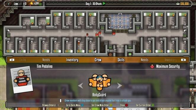 Prison Architect Escape Mode Screenshot
