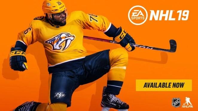 NHL 19 Launch Hero Image