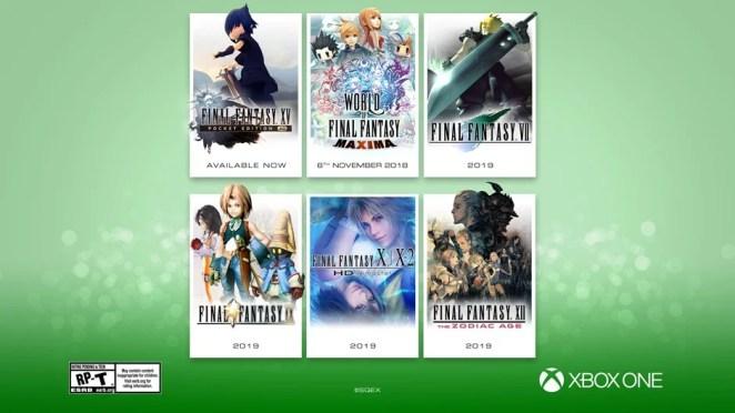 Final Fantasy Announcement Hero Image