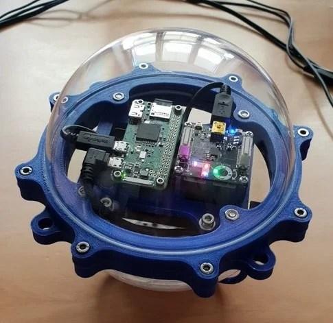 Floating Raspberry Pi case
