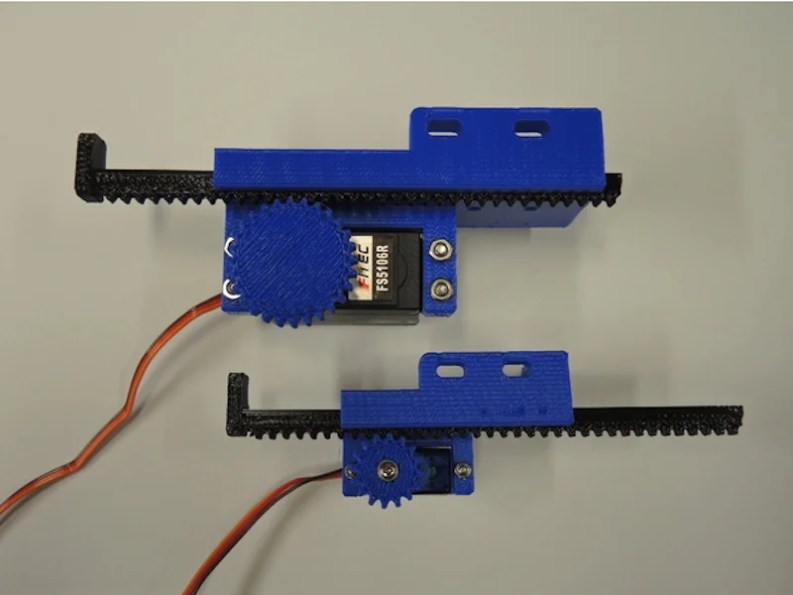 Linear movement with Arduino and 3D printing | ブログドット