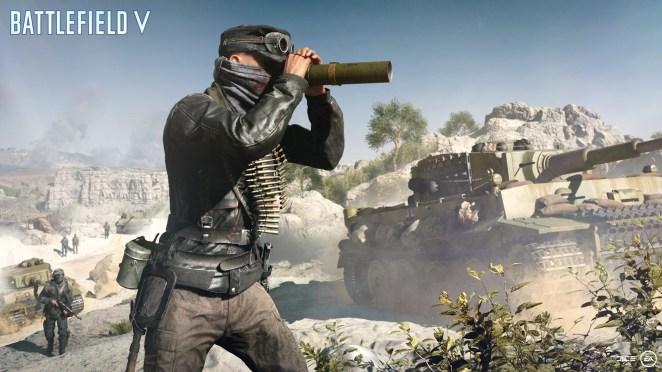 Battlefield V Recon Soldier
