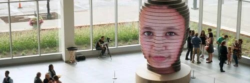 Raspberry Pi facial mapping as we are