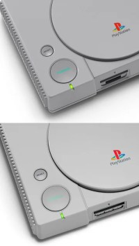 PlayStation Classic comparison photo