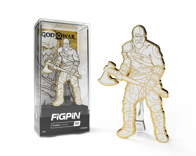 PlayStation Gear: Kratos FigPin