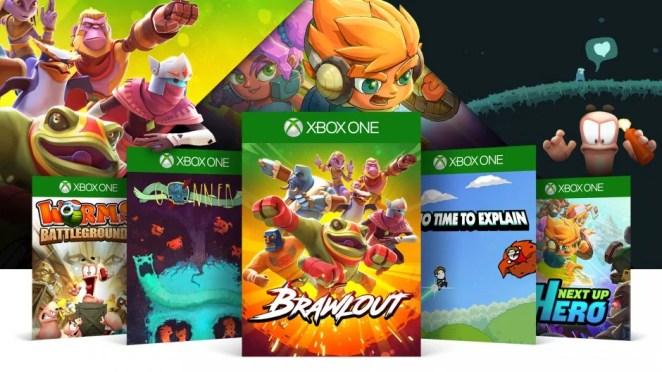 ID@Xbox Beat Em Up Sale Hero Image