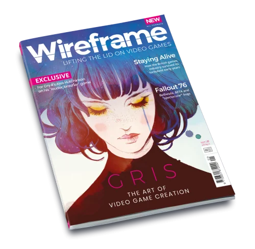 wireframe issue 1 cover