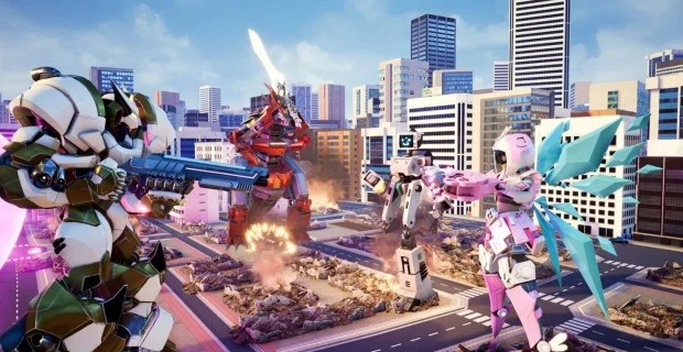 Next Week on Xbox: Mech City Brawl