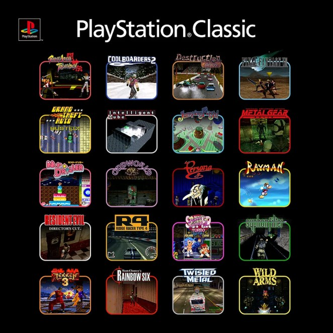 PS Classic lineup IG