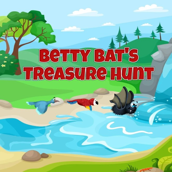 Betty Bats Treasure Hunt