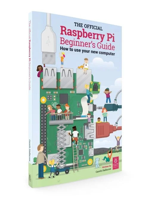 The Official Raspberry Pi Beginner's Guide front cover