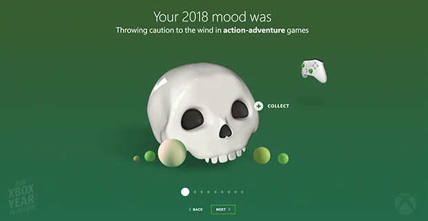 Xbox Year in Review 2018 Asset