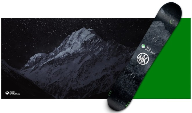 Xbox Game Pass Snowboard
