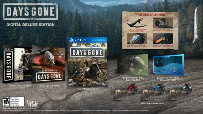 Days Gone - Digital Deluxe Edition