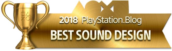 Best Sound Design - Gold