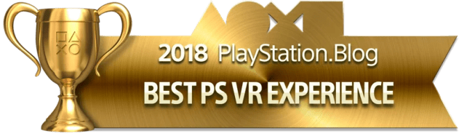Best PS VR Experience - Gold