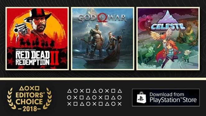 PlayStation.Blog Editors' Choice 2018