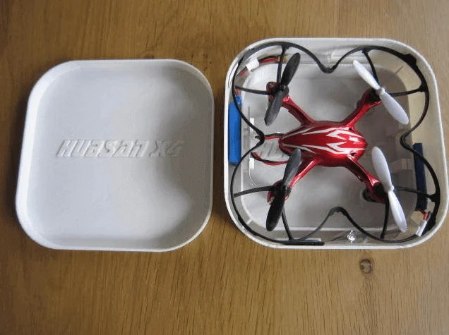 Protect your drone in a box you can 3D print- it sure is scalable if you find a 3D printer that's big enough ;-) (source: Thingiverse)