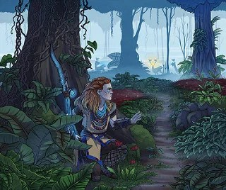 Horizon Zero Dawn Fan Art