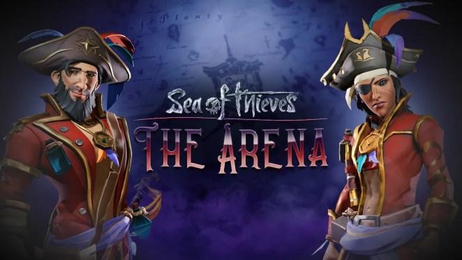Sea of Thieves Anniversary Update The Arena Key Art